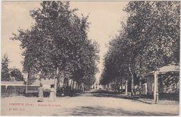 Verneuil (Eure) Avenue De La Gare - Verneuil-sur-Avre