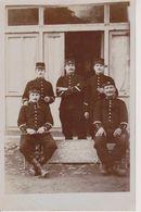 57 - PLESNOIS -CARTE PHOTO DE SERGENTS DU FORT - Metz
