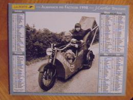 Ancien Calendrier Almanach Du Facteur 1998 - Grand Format : 1991-00