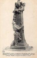CPA BAGNOLET - MONUMENT A ELEVER A L'ANGLE DE LA RUE DE PARIS ET DE L'AVENUE GAMBETTA A LA MEMOIRE DES SOLDATS DE BAGNOL - Bagnolet