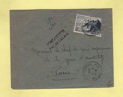 Pont A Vendin - Pas De Calais - Recommande Provisoire - 1948 - Postmark Collection (Covers)
