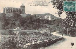 CPA Saint-Bertrand-de-Comminges La Cathédrale Vue Prise Des Trois Chemins (animée) ZZ 617 - Saint Bertrand De Comminges