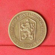 CZECHOSLOVAKIA 1 KORUNA 1970 -    KM# 50 - (Nº20201) - Tschechoslowakei