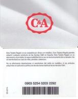TARJETA REGALO DE ESPAÑA, GIFT CARD. C&A. 033. - Tarjetas De Regalo
