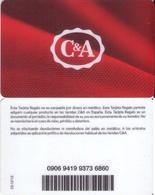 TARJETA REGALO DE ESPAÑA, GIFT CARD. C&A. 034. - Tarjetas De Regalo