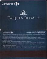TARJETA REGALO DE ESPAÑA, GIFT CARD. CARREFOUR. 036. - Tarjetas De Regalo