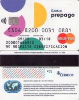 TARJETA REGALO DE ESPAÑA, GIFT CARD. CORREOS PREPAGO MASTERCARD. 031. - Tarjetas De Regalo