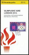 Croatia 2012 / Prospectus, Leaflet, Brochure / Olympic Games London - Croatie