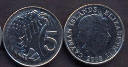 Cayman Islands 5 Cents 2008 UNC - Cayman Islands