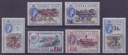 SIERRA LEONE :1955: Y.186 Dentelled/avec Légère Trace De Charnière/lightly Hinged : ## Iron Mine Of MARAMPA ## - Sierra Leone (1961-...)