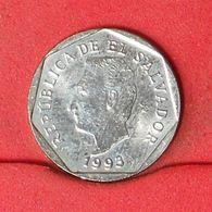 EL SALVADOR 5 CENTAVOS 1993 -    KM# 154b - (Nº20215) - El Salvador