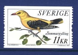 Sweden 2005 MNH Scott #2505 11k Oriolus Oriolos - Pájaros Cantores (Passeri)