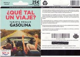 TARJETA REGALO DE ESPAÑA, GIFT CARD. GASOLINA. 052. - Tarjetas De Regalo