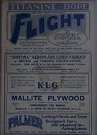 AVIATION - Lot De 5 Revues FLIGHT 1929-30 En Anglais TECHNIQUE- ACTUALITÉ-RAF - Transportation