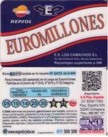 TARJETA REGALO DE ESPAÑA, GIFT CARD. EUROMILLONES. 062. - Tarjetas De Regalo