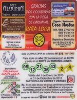 TARJETA REGALO DE ESPAÑA, GIFT CARD. EUROMILLONES. 063. - Tarjetas De Regalo