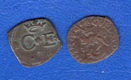 2 PIECES  A  IDENTIFIE - 476 – 1789  Periodo Feudale
