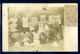 Cpa Dahomey Recommandé Parakou Henri Poustier Administrateur Des Colonies Tous Lisant Journal Paramé St Malo  Sep17-15 - Dahomey