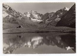 VILLAR  D'ARENE--1960--Col Du Lautaret-- Les Agneaux Et Neiges Cordier Vus Du Lac Du Pontet--cachet Briançon-05 - France