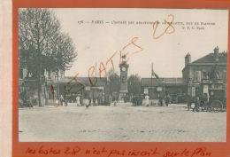 CPA  75 PARIS Entrée Des Abattoirs De La Villette  , Rue De Flandre  Animée     JAN 2018 697 - Paris (16)