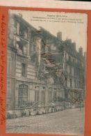CPA  54 NANCY  BOMBARDEMENTS  FAUBOURG St-Jean Par Pièce De Canon Longue Porte  Derrière Maisons  JAN 2018 703 - Guerra 1914-18