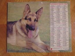 Ancien Calendrier Almanach Des P.T.T. 1982 - Big : 1981-90