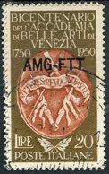 Italy (Trieste) 1950 20 L Fine Arts Issue #88 - 7. Trieste