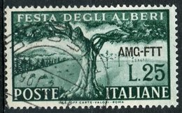 Italy (Trieste) 1951 25 L Tree Issue #137 - 7. Trieste