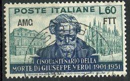 Italy (Trieste) 1951 60 L Verdi Issue #140 - 7. Trieste