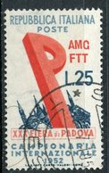 Italy (Trieste) 1952 25 L Basilica Issue #150 - 7. Trieste