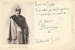 Germany, Emperor WILHELM II, Uniform, Spike Helmet (1899) Postcard - Royal Families