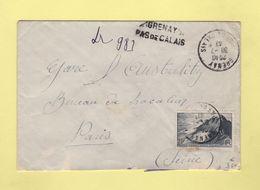 Grenay - Pas De Calais - Recommande Provisoire - 1947 - Postmark Collection (Covers)