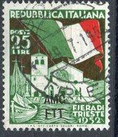 Italy (Trieste) 1952 25 L Flag Issue #151 - 7. Trieste