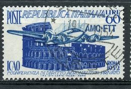Italy (Trieste) 1952 60 L Civil Avation Issue #155 - 7. Trieste
