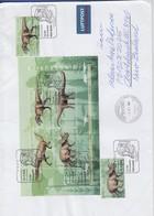 Bundesrepublik 2008 Dinosaurier Block Mi.-Nr. Bl. 73 Auf Lp-Bf. -> Neuseeland - [7] Federal Republic