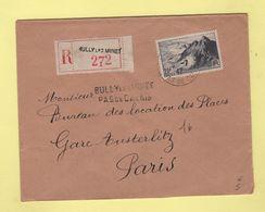 Bully Les Mines - Pas De Calais - Recommande Provisoire - 1947 - Postmark Collection (Covers)