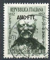 Italy (Trieste) 1952 25 L Mancini Issue #160 - 7. Trieste