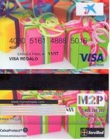 TARJETA REGALO DE ESPAÑA. GIFT CARD. VISA. 055. - Tarjetas De Regalo