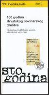 Croatia 2010 / Prospectus, Leaflet, Brochure / Croatian Journalist Society - Croatie
