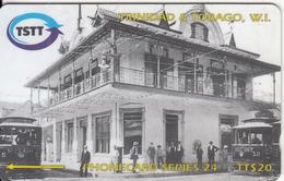 TRINIDAD & TOBAGO(GPT) - The Transfer Station In 1905, CN : 205CTTB(normal 0), Used - Trinidad & Tobago