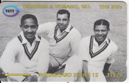 TRINIDAD & TOBAGO(GPT) - Cricket/The 3 W, CN : 144CTTB(0 With Barred), Used - Trinidad & Tobago