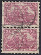 GERMANIA REICH - 1920 - Coppia Di Yvert 115 Obliterati Uniti Fra Loro. - Used Stamps