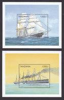 Tanzania, Scott #1821-1822, Mint Never Hinged, Ships, Issued 1999 - Tanzania (1964-...)