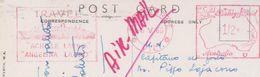 Ema Timbro Rosso Travel Achille Lauro / Angelina Lauro Australia 1966 - Machine Stamps (ATM)