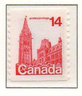 PIA - CANADA - 1978 : Uso Corrente - Palazzo Del Parlamento - (Yv  657a) - 1952-.... Regno Di Elizabeth II