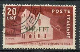 Italy (Trieste) 1949 20 L Basilica Issue #47 - 7. Trieste