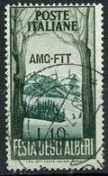 Italy (Trieste) 1953 25 L Mountain Peak Issue #181 - 7. Trieste