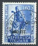 Italy (Trieste) 1953 60 L Tyche Issue #183 - 7. Trieste