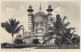 Kuala Kangsar Malaysia, Ubad Aiah Mosque, Religion Architecture, C1910s Vintage Postcard - Malaysia