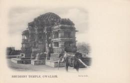 Gwalior India, Bhuddist Temple, Religion Architecture, C1900s Vintage Postcard - India